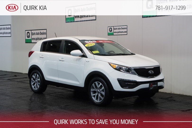 Certified Pre-Owned 2015 Kia Sportage LX